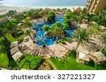 dubai uae  march 30 located in... | Shutterstock . vector #327221327