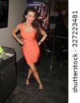 los angeles   oct 9   alicia... | Shutterstock . vector #327223481