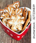 Decorated Christmas Cookies In...