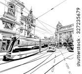 Amsterdam Hand Drawn  City...