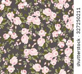 seamless floral pattern with... | Shutterstock .eps vector #327250211