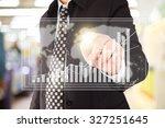 business man in shopping mall. | Shutterstock . vector #327251645