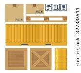 brown carton packaging box ...