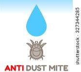 Dust Mite Vector Illustration ...