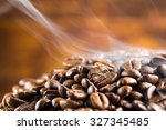 Coffee Beans Fresh Roast With...