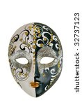 mask in the italian style on a ... | Shutterstock . vector #32737123