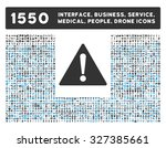warning icon and other web... | Shutterstock .eps vector #327385661