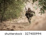 picture of special forces... | Shutterstock . vector #327400994