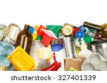 a selection of garbage for... | Shutterstock . vector #327401339