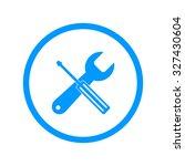 repair icon. flat design style. ...