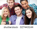 education  people  friendship ... | Shutterstock . vector #327443144