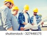 business  building  teamwork...   Shutterstock . vector #327448175
