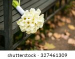noble beautiful bridal bouquet... | Shutterstock . vector #327461309