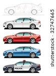 a vector illustration of cars.  ... | Shutterstock .eps vector #32747665