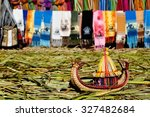 Floating Uros Islands On The...