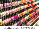 Set Of Different Nail Varnishe...