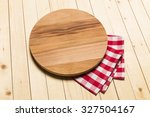 red checkered tablecloth on... | Shutterstock . vector #327504167