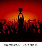 advertising background for... | Shutterstock .eps vector #327528641