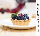 Tart  With Fresh Berries  ...