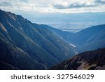 skyline view from ostry rohac... | Shutterstock . vector #327546029