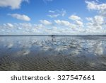 maritime landscape with... | Shutterstock . vector #327547661