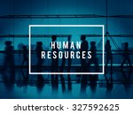 human resources hiring... | Shutterstock . vector #327592625