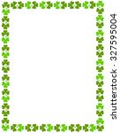 Green Clover St. Patrick\'s Day...