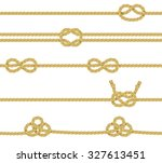 knitted and associated twisted... | Shutterstock . vector #327613451