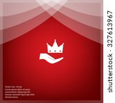 crown   vector icon | Shutterstock .eps vector #327613967