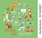 professional competitive... | Shutterstock . vector #327620837