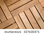 Close Up View Of Outdoor Woode...