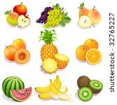 vector illustration   set of...   Shutterstock .eps vector #32765227