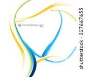 white vector wave design vector ...   Shutterstock .eps vector #327667655