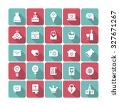 a set of vector icons for... | Shutterstock .eps vector #327671267