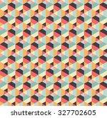 abstract hexagonal seamless... | Shutterstock .eps vector #327702605