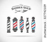 Vector Illustration  Barber...