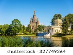 st. peter and paul cathedral... | Shutterstock . vector #327749264
