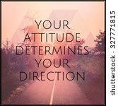 inspirational typographic quote ... | Shutterstock . vector #327771815