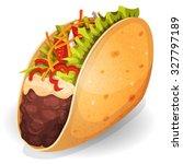 Mexican Tacos Icon ...