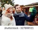 holidays  winter  christmas ... | Shutterstock . vector #327808511