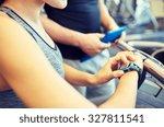 sport  fitness  lifestyle ... | Shutterstock . vector #327811541
