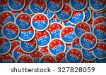 us presidential election 2016 | Shutterstock . vector #327828059