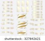 vector set of luxury banners...   Shutterstock .eps vector #327842621