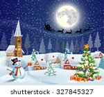 Christmas Landscape With...
