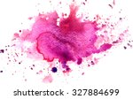 colorful abstract watercolor... | Shutterstock . vector #327884699