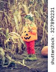 cute little pumpkin | Shutterstock . vector #327890231