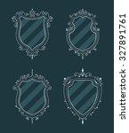 luxury premium stylish... | Shutterstock . vector #327891761