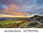 Постер, плакат: Sunset from Stanage Edge