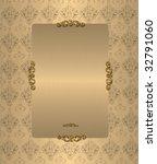 gold vintage background | Shutterstock . vector #32791060