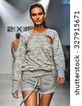 new york  ny   october 14 ... | Shutterstock . vector #327915671